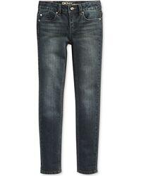 DKNY Girls' Skinny Hipster Jeans - Lyst