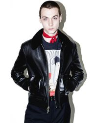 3.1 Phillip Lim - Leather Motorcycle Jacket - Lyst