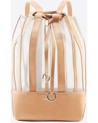 3.1 Phillip Lim Billie Medium Drawstring Backpack - Natural