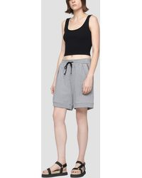 3.1 Phillip Lim French Terry Short - Grey