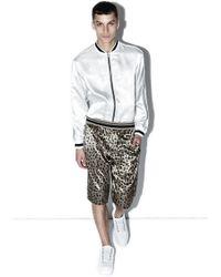 3.1 Phillip Lim - Reversible Leopard Print Short - Lyst