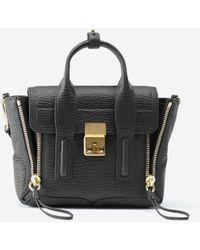 3.1 Phillip Lim Pashli Mini Leather Satchel - Black