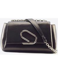 3.1 Phillip Lim Alix Soft Chain Bag - Black