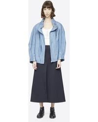 3.1 Phillip Lim Chambray Utility Sports Jacket - Blue