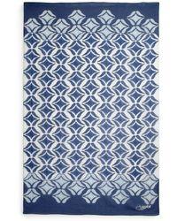 Diane von Furstenberg Ikat Batik Linen Scarf - Lyst