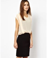 Vero Moda Very - Very By Vero Moda 2 in 1 Dress - Lyst
