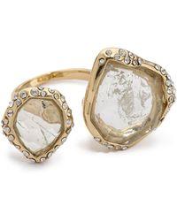 Alexis Bittar - Multi Stone Cutout Ring - Lyst