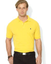 Ralph Lauren Polo Classic Mesh Polo Shirt - Regular Fit - Lyst