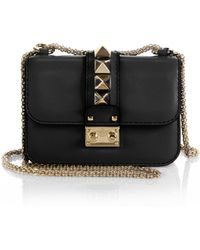 Valentino Rockstud Lock Mini Shoulder Bag - Lyst