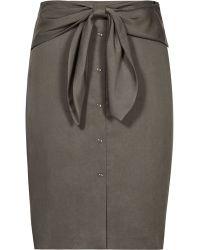 Reiss | Dakota Bow-detail Skirt | Lyst