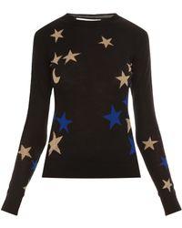 Diane von Furstenberg Intarsia Sweater - Lyst