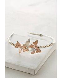Eugenia Kim Butterflies Headband silver - Lyst