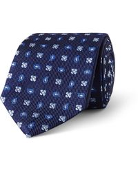 Turnbull & Asser Patterned Silkfaille Tie - Lyst