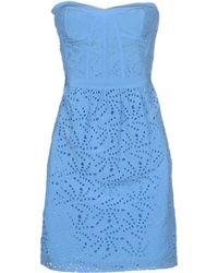Rebecca Taylor Short Dress - Lyst