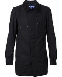 Comme Des Garçons Corduroy Collar Jacket - Lyst