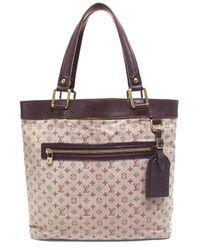 Louis Vuitton Pre-owned Cherry Mini Lin Lucille Gm Bag - Lyst