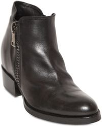 Strategia 80Mm Calf Leather Ankle Boots - Lyst