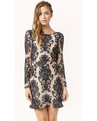 For Love And Lemons Night To Remember Mini Dress - Lyst