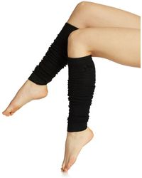 Free People Cabled Leg Warmers - Lyst
