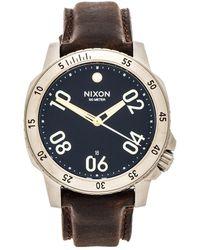 Nixon The Ranger Leather - Lyst