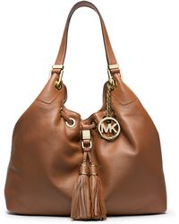 MICHAEL Michael Kors Middleton Soft Venus Leather Hobo Bag - Lyst