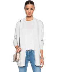 Inhabit Weekend Cashmere Cardigan - Lyst