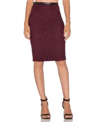 LaPina by David Helwani - Gia Skirt - Lyst