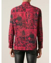 Jean Paul Gaultier 'Jpg Comics' Printed Shirt - Lyst