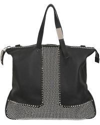Giuseppe Zanotti Studded Travel Bag - Black