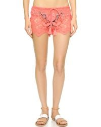 Miguelina - Minnie Shorts - Punch - Lyst