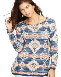 Denim & Supply Ralph Lauren - Muted Southwestern-print Sweater - Lyst