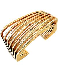 Vita Fede Futturo 24k Gold Cuff Bracelet - Metallic