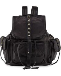 Cynthia Rowley   Sienna Studded Leather Backpack   Lyst
