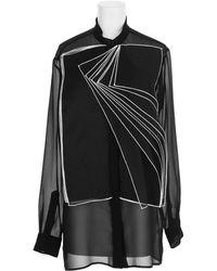 Christopher Kane Black Shirt - Lyst