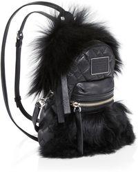 Marc By Marc Jacobs - Domo Biker Fur Backpack - 100% Bloomingdale's Exclusive - Lyst