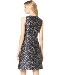 Michael Kors Floral-Print A-Line Dress - Lyst