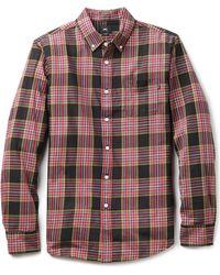 Obey Bowen Shirt - Lyst