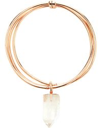 Cedric Charlier - Crystal Pendant Necklace - Lyst