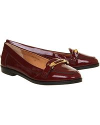 Office Purple Victoria Loafer - Lyst