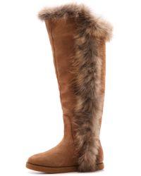 9a730b499b3 Sasha Ii Knee-High Fur Boot - Brown