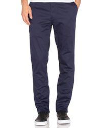 Huf Fulton Chino Slim Pant - Blue