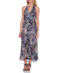 Haute Hippie Halter Dress - Lyst