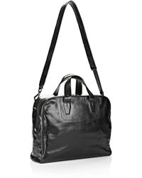 Alexander Wang - Briefcase In Waxy Black With Matte Black - Lyst