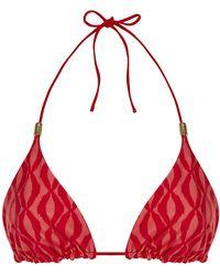 Heidi Klein Porto Vecchio Reversible Triangle Bikini Top - Lyst