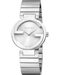 Gucci Interlockingg Collection Stainless Steel Watch - Lyst
