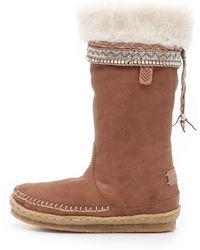 Laidbacklondon - Kili Boots - Brown/coffee - Lyst
