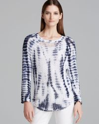 Two By Vince Camuto - Tie Dyed Jumper - Lyst