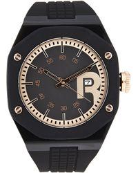 Reebok - Rc-Swa Black & Rose Gold-Tone Watch - Lyst