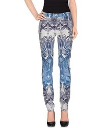 Goldsign Casual Trouser blue - Lyst