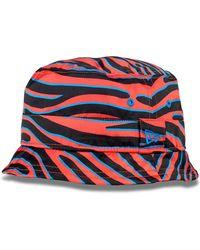 House of Holland - Zebra Bucket Hat - Lyst